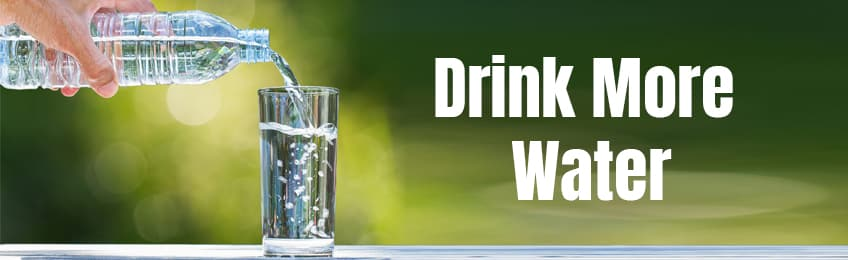 Less Drinks, More Water