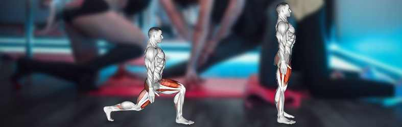 Exercise 2: The Rear Lunge