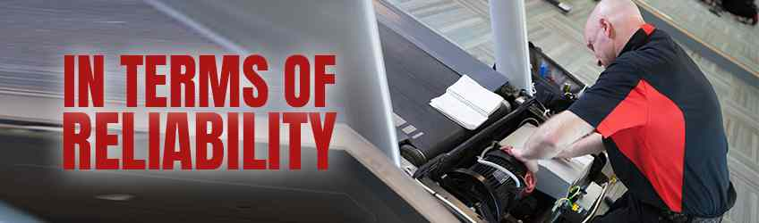 Rowing Machine vs. Treadmill : In Terms of Reliability