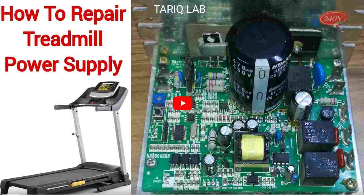 Fixing Problems with the Treadmill Motor/Power Drive