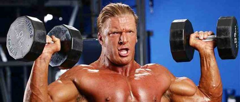 Shoulder and Chest Workout With Dumbbells